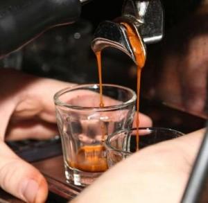 espresso brygning cut