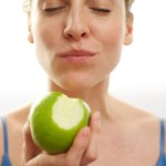 mindful eating apple