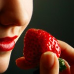 mindful eating strawberry