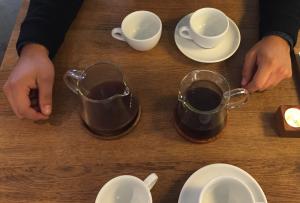 Kaffepaabordet