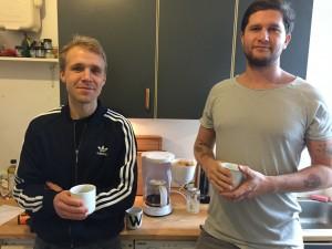 Kaffmask Simon og Jotam